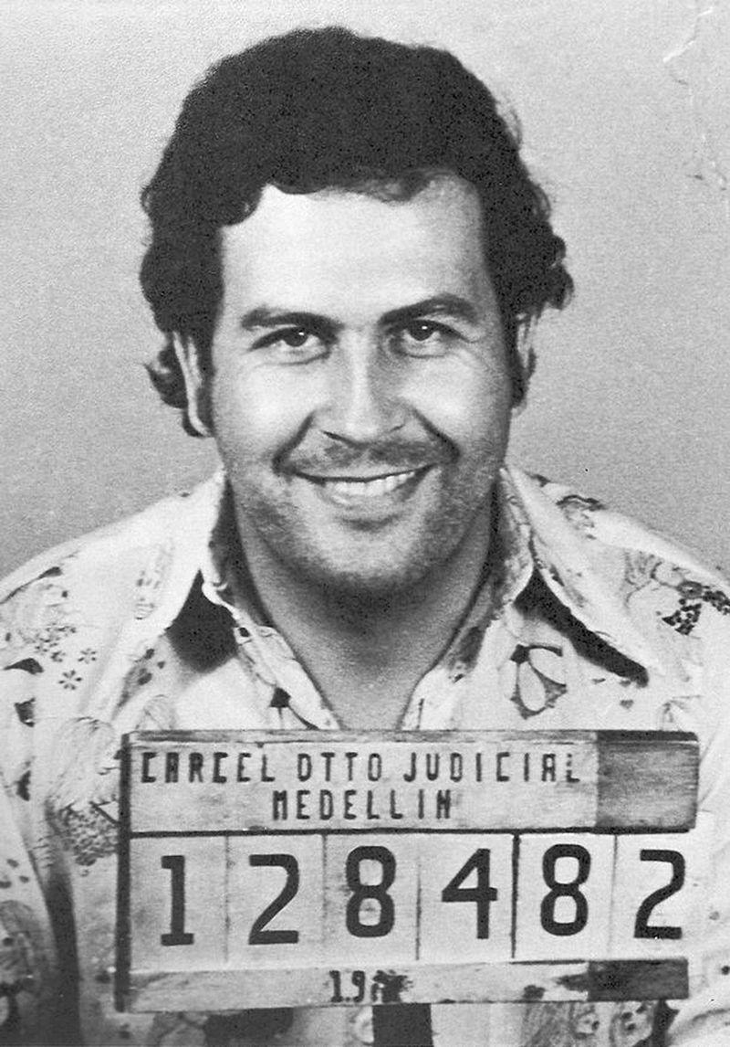 Pablo Emilio Escobar Gaviria preso em 1976