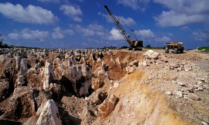 Mineração de fosfato
